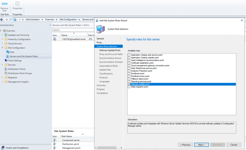 Deploying SCCM 2016 Current Branch – Part 3 | Ghouletech Ltd
